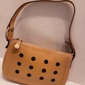 Bally tan and brown leather mini bag
